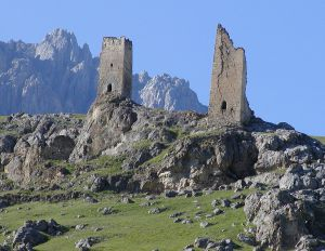 Ossetian towers_in_Fiagdon